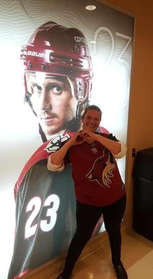 tim attended Arizona Coyotes vs. Toronto Maple Leafs - NHL on Nov 21st 2019 via VetTix