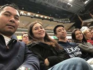Victor attended Arizona Coyotes vs. Toronto Maple Leafs - NHL on Nov 21st 2019 via VetTix