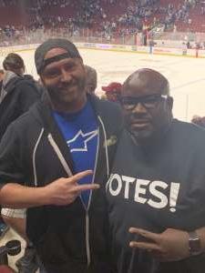 Alonzo (AJ) attended Arizona Coyotes vs. Toronto Maple Leafs - NHL on Nov 21st 2019 via VetTix