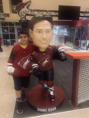 Jorge attended Arizona Coyotes vs. Toronto Maple Leafs - NHL on Nov 21st 2019 via VetTix