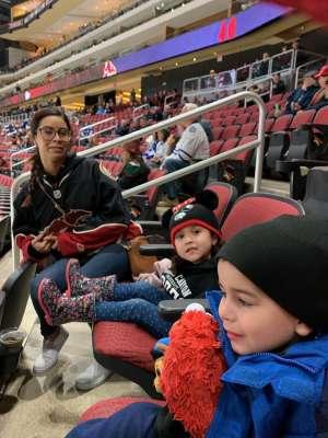 Pete attended Arizona Coyotes vs. Toronto Maple Leafs - NHL on Nov 21st 2019 via VetTix