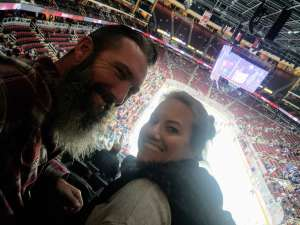 J attended Arizona Coyotes vs. Toronto Maple Leafs - NHL on Nov 21st 2019 via VetTix