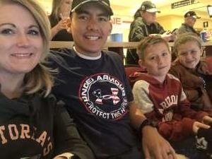 Edwin attended Arizona Coyotes vs. Toronto Maple Leafs - NHL on Nov 21st 2019 via VetTix