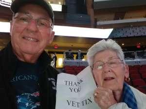 Chuck attended Arizona Coyotes vs. Toronto Maple Leafs - NHL on Nov 21st 2019 via VetTix