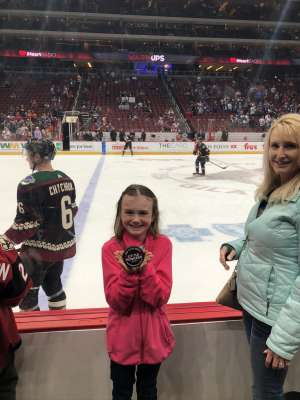 Todd attended Arizona Coyotes vs. Toronto Maple Leafs - NHL on Nov 21st 2019 via VetTix