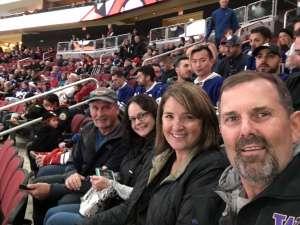 Franck attended Arizona Coyotes vs. Toronto Maple Leafs - NHL on Nov 21st 2019 via VetTix