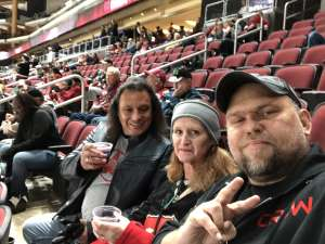Edward attended Arizona Coyotes vs. Toronto Maple Leafs - NHL on Nov 21st 2019 via VetTix