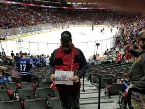 Jeffrey attended Arizona Coyotes vs. Toronto Maple Leafs - NHL on Nov 21st 2019 via VetTix