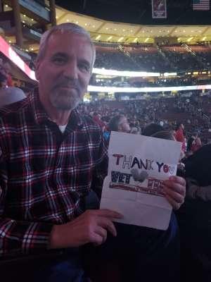 Jim attended Arizona Coyotes vs. Toronto Maple Leafs - NHL on Nov 21st 2019 via VetTix