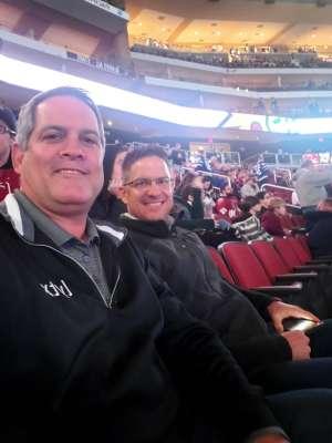 Tony attended Arizona Coyotes vs. Toronto Maple Leafs - NHL on Nov 21st 2019 via VetTix