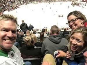 DW attended Arizona Coyotes vs. Toronto Maple Leafs - NHL on Nov 21st 2019 via VetTix