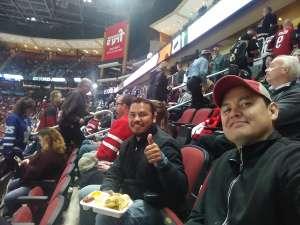 Rodolfo attended Arizona Coyotes vs. Toronto Maple Leafs - NHL on Nov 21st 2019 via VetTix