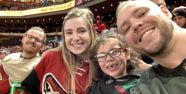 Garin attended Arizona Coyotes vs. Toronto Maple Leafs - NHL on Nov 21st 2019 via VetTix