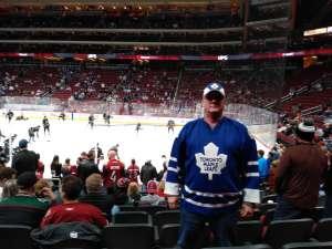 Timothy attended Arizona Coyotes vs. Toronto Maple Leafs - NHL on Nov 21st 2019 via VetTix