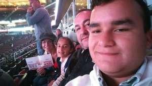 Jennifer attended Arizona Coyotes vs. Toronto Maple Leafs - NHL on Nov 21st 2019 via VetTix