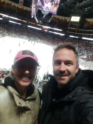 TIFFANY MCDONALD attended Arizona Coyotes vs. Toronto Maple Leafs - NHL on Nov 21st 2019 via VetTix