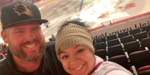 Robert attended Arizona Coyotes vs. Toronto Maple Leafs - NHL on Nov 21st 2019 via VetTix
