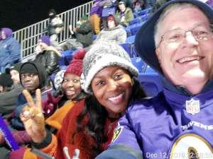 Keith attended Baltimore Ravens vs. New York Jets - NFL on Dec 12th 2019 via VetTix