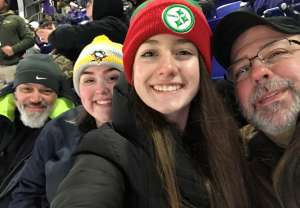 Sean Howarth attended Baltimore Ravens vs. New York Jets - NFL on Dec 12th 2019 via VetTix