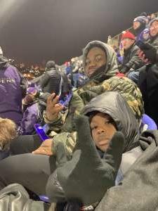 Gordon attended Baltimore Ravens vs. New York Jets - NFL on Dec 12th 2019 via VetTix