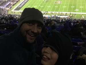Benjamin attended Baltimore Ravens vs. New York Jets - NFL on Dec 12th 2019 via VetTix