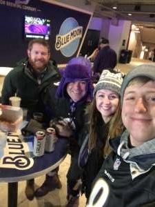 Justin attended Baltimore Ravens vs. New York Jets - NFL on Dec 12th 2019 via VetTix