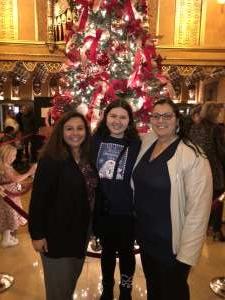 Belinda attended Rudolph the Red-nosed Reindeer the Musical (touring) on Dec 1st 2019 via VetTix