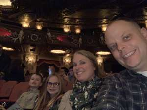 Marcie attended Rudolph the Red-nosed Reindeer the Musical (touring) on Dec 1st 2019 via VetTix