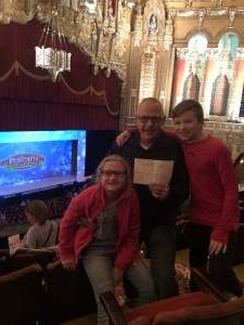 Tom attended Rudolph the Red-nosed Reindeer the Musical (touring) on Dec 1st 2019 via VetTix