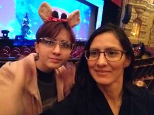 Catalina attended Rudolph the Red-nosed Reindeer the Musical (touring) on Dec 1st 2019 via VetTix