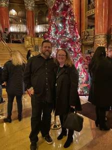 John attended Rudolph the Red-nosed Reindeer the Musical (touring) on Dec 1st 2019 via VetTix