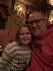 Sean attended Rudolph the Red-nosed Reindeer the Musical (touring) on Dec 1st 2019 via VetTix