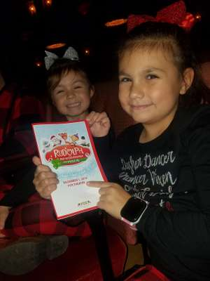 Andrea attended Rudolph the Red-nosed Reindeer the Musical (touring) on Dec 1st 2019 via VetTix