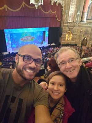 Donnie attended Rudolph the Red-nosed Reindeer the Musical (touring) on Dec 1st 2019 via VetTix