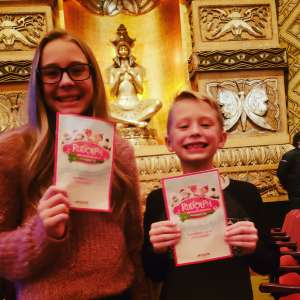 Gregory attended Rudolph the Red-nosed Reindeer the Musical (touring) on Dec 1st 2019 via VetTix