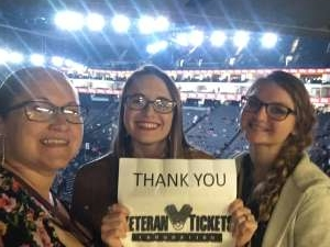 Samuel attended Eric Church: Double Down Tour on Nov 22nd 2019 via VetTix