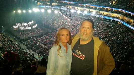 Chris attended Eric Church: Double Down Tour on Nov 22nd 2019 via VetTix