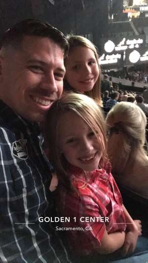 Donald attended Eric Church: Double Down Tour on Nov 22nd 2019 via VetTix