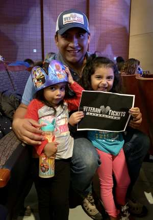 Agustin attended Nick Jr. Live! Move to the Music - Presented by Vstar Entertainment on Dec 7th 2019 via VetTix