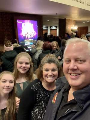 Chris attended SIX: Presented by Ordway Center for the Performing Arts on Dec 1st 2019 via VetTix