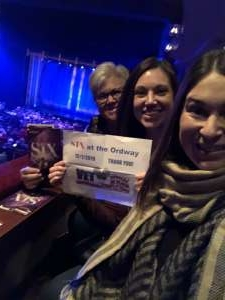 Denny attended SIX: Presented by Ordway Center for the Performing Arts on Dec 1st 2019 via VetTix