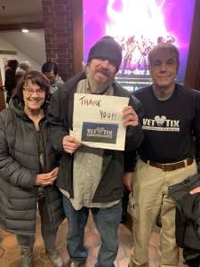 Robert attended SIX: Presented by Ordway Center for the Performing Arts on Dec 1st 2019 via VetTix