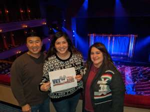 Michael attended SIX: Presented by Ordway Center for the Performing Arts on Dec 1st 2019 via VetTix