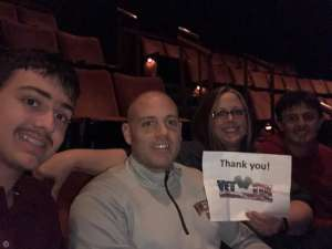 Shane attended SIX: Presented by Ordway Center for the Performing Arts on Dec 1st 2019 via VetTix