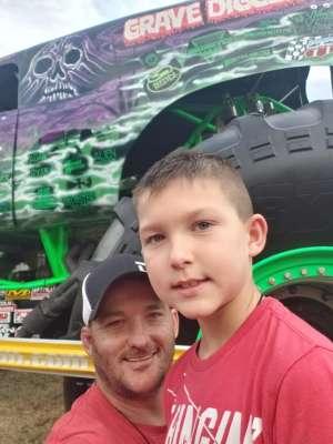 Thomas attended Monster Jam on Jan 11th 2020 via VetTix