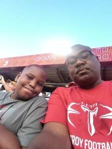 Andre attended Alabama Crimson Tide vs. Western Carolina - NCAA Football on Nov 23rd 2019 via VetTix