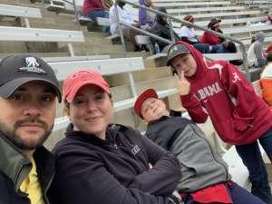 Chris attended Alabama Crimson Tide vs. Western Carolina - NCAA Football on Nov 23rd 2019 via VetTix