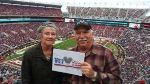 Jerry attended Alabama Crimson Tide vs. Western Carolina - NCAA Football on Nov 23rd 2019 via VetTix