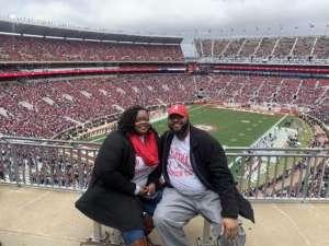 Maurice attended Alabama Crimson Tide vs. Western Carolina - NCAA Football on Nov 23rd 2019 via VetTix