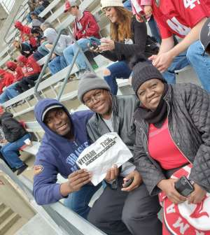 David attended Alabama Crimson Tide vs. Western Carolina - NCAA Football on Nov 23rd 2019 via VetTix